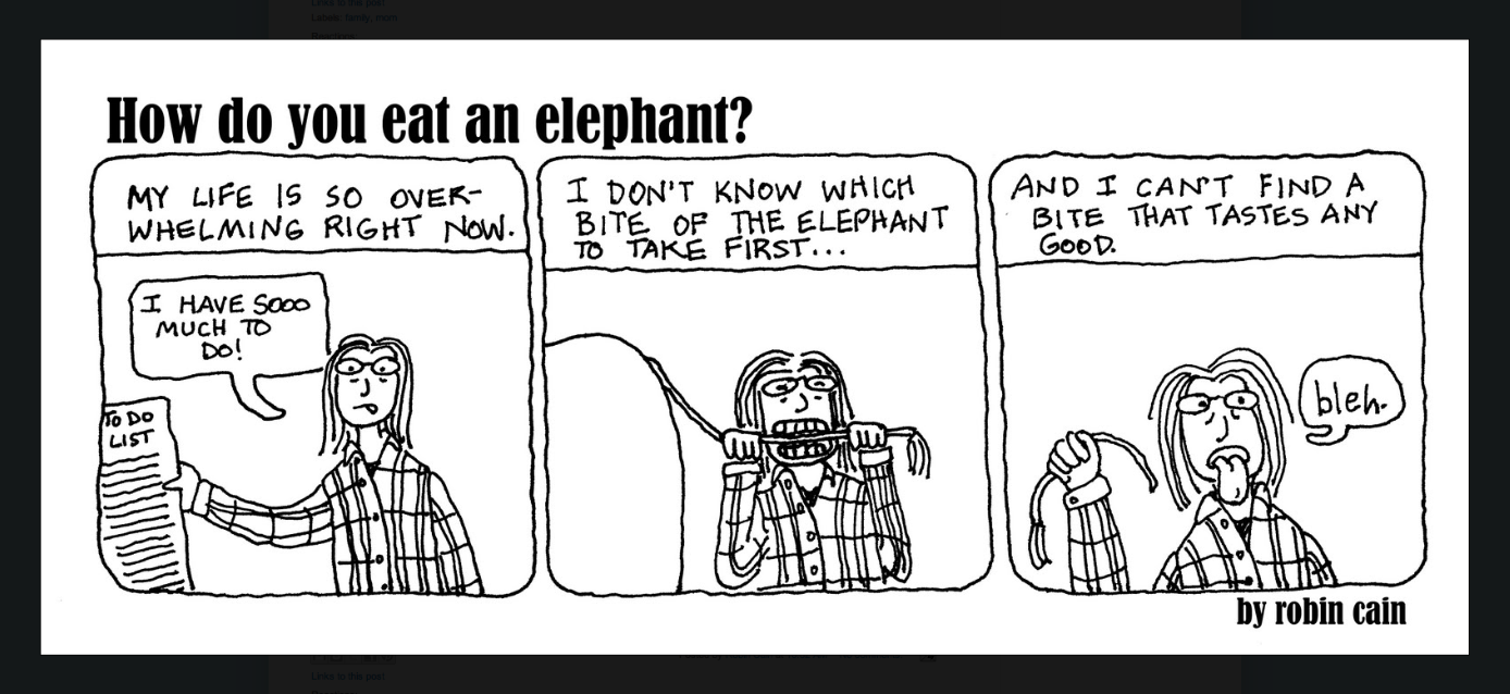 Cartoon by Robin Cain