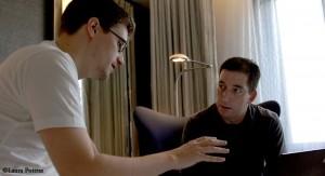 Snowden & Greenwald (Source: http://glenngreenwald.net)