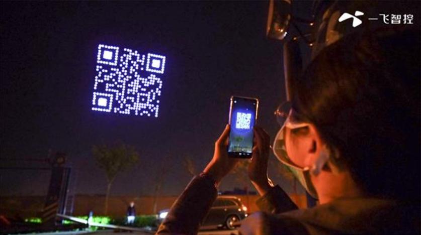 QR Code in the Sky